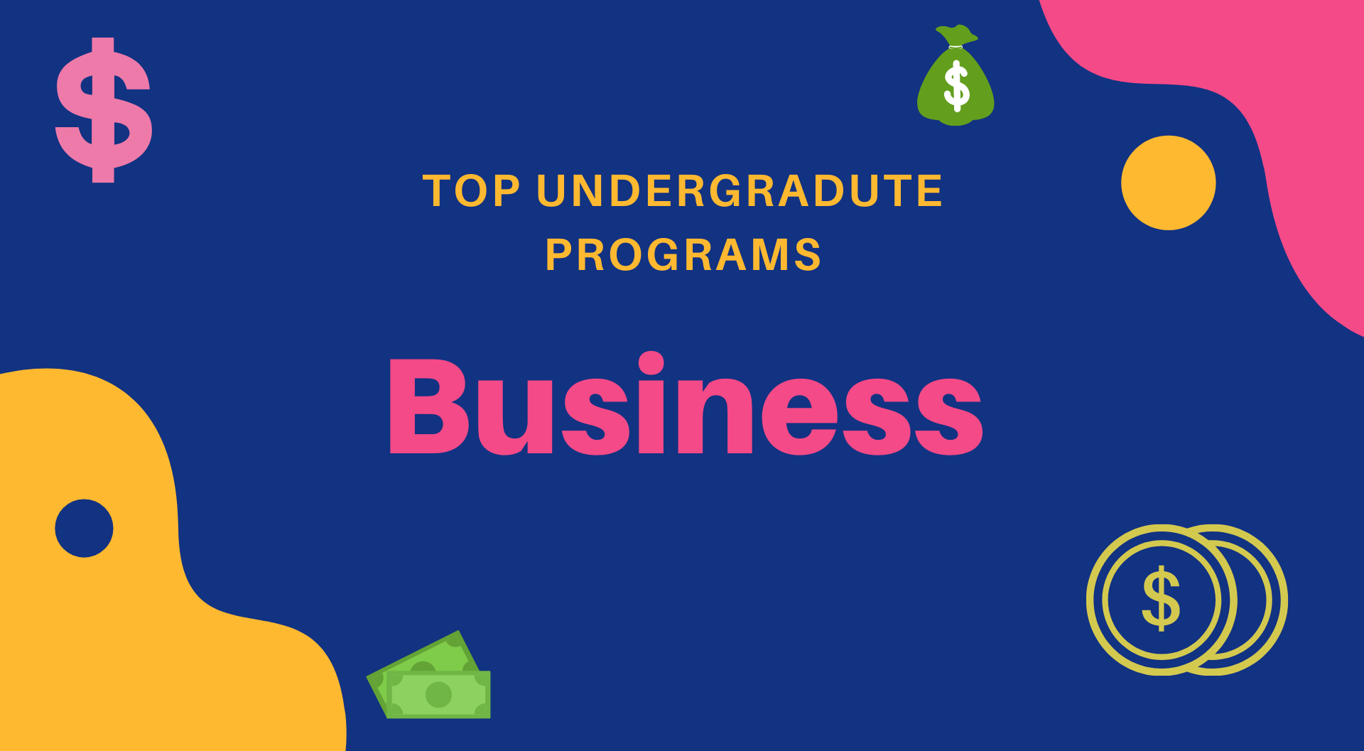 Best Undergraduate Business Programs
