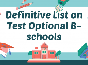 Definitive Guide on Test Optional B-schools