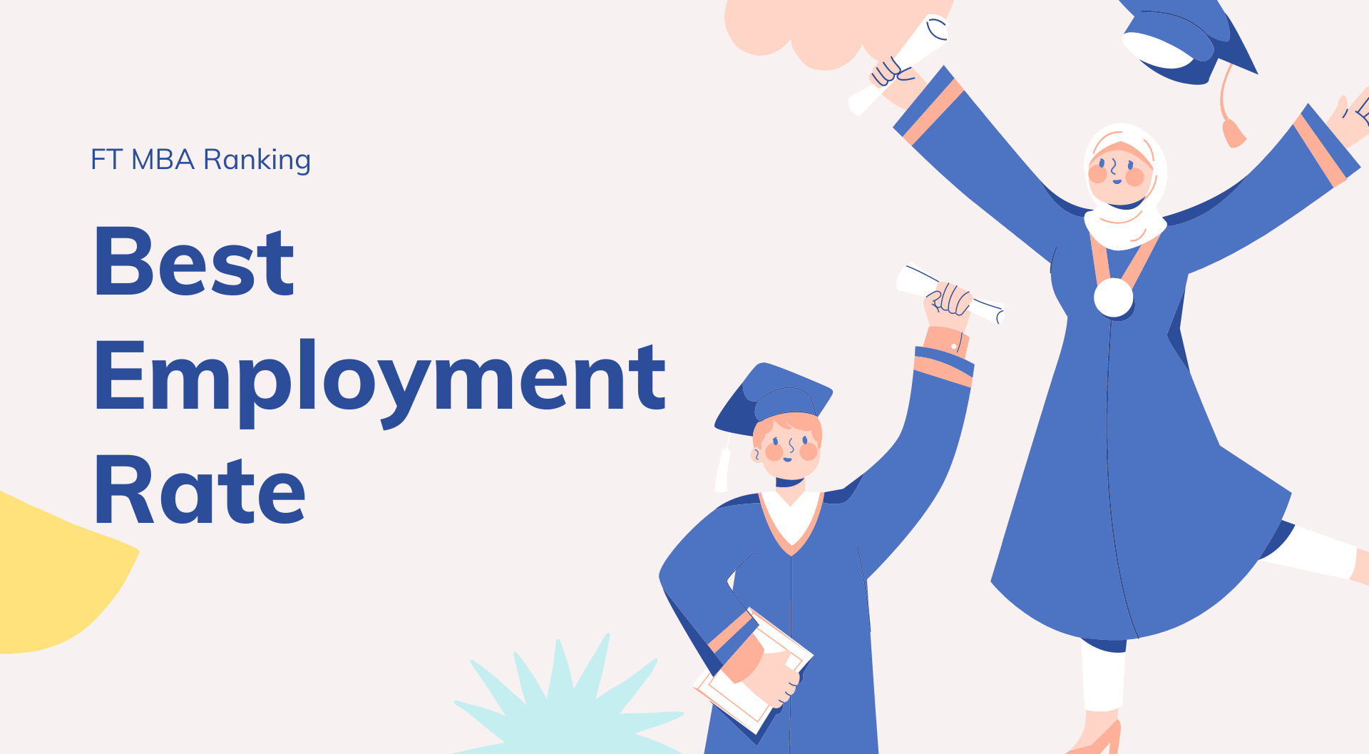 B-Schools with Best Employment Rate