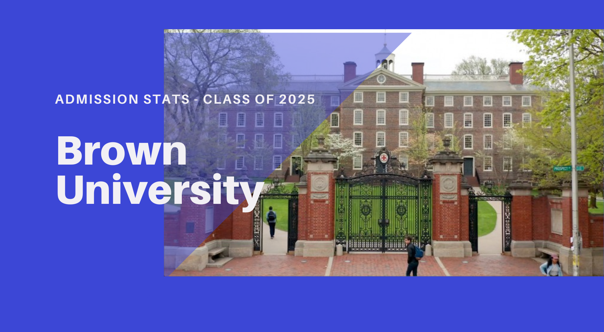 Brown University – Admissions Rates & Stats – Class of 2025