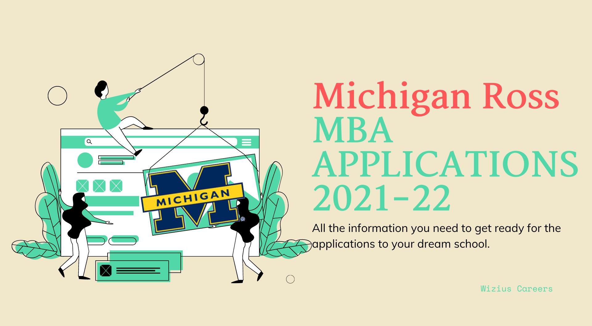 Michigan Ross MBA Applications 2021-22