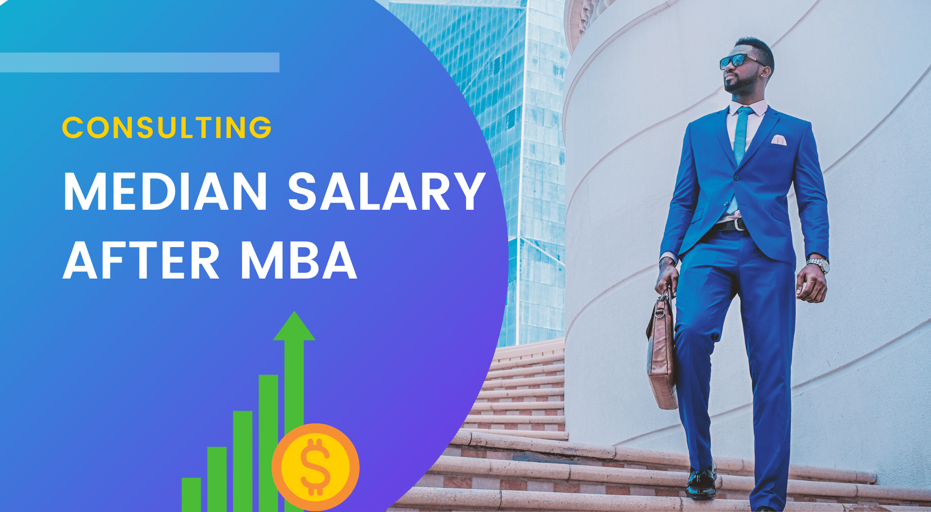Median Salary for Consulting at the Top B-schools