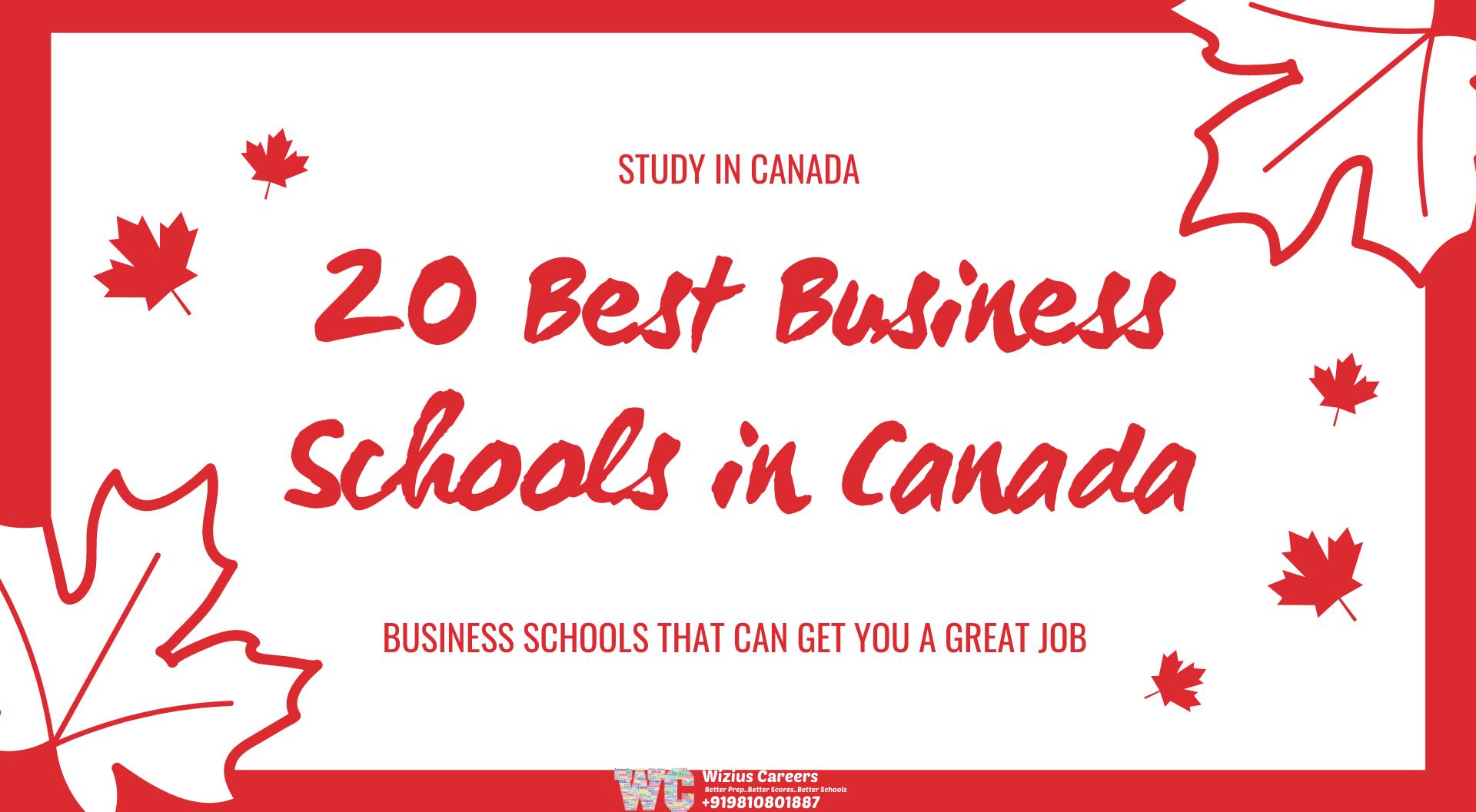 Best Business Schools in Canada